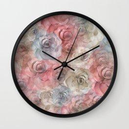 Pastel Delight Wall Clock