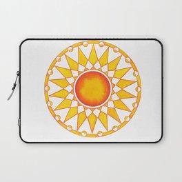 RadialDesignYellowN0.2 Laptop Sleeve