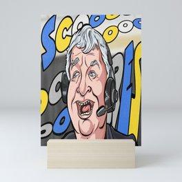 Rick Jeanette Buffalo SCORES Mini Art Print