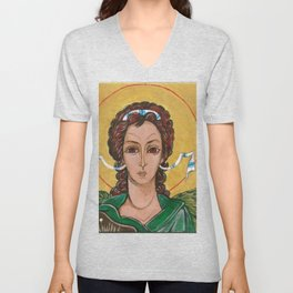 Taxiarch Michael Unisex V-Neck
