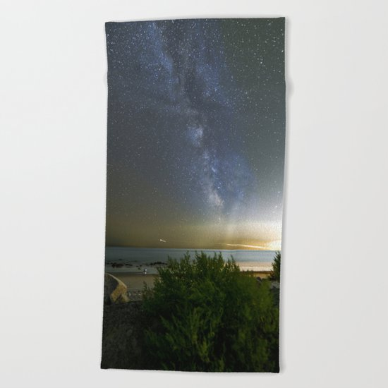Milkyway at Pebble Beach Beach Towel