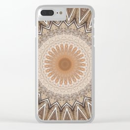 Some Other Mandala 67 Clear iPhone Case