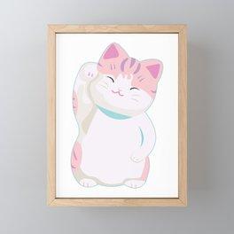 neko chan Framed Mini Art Print