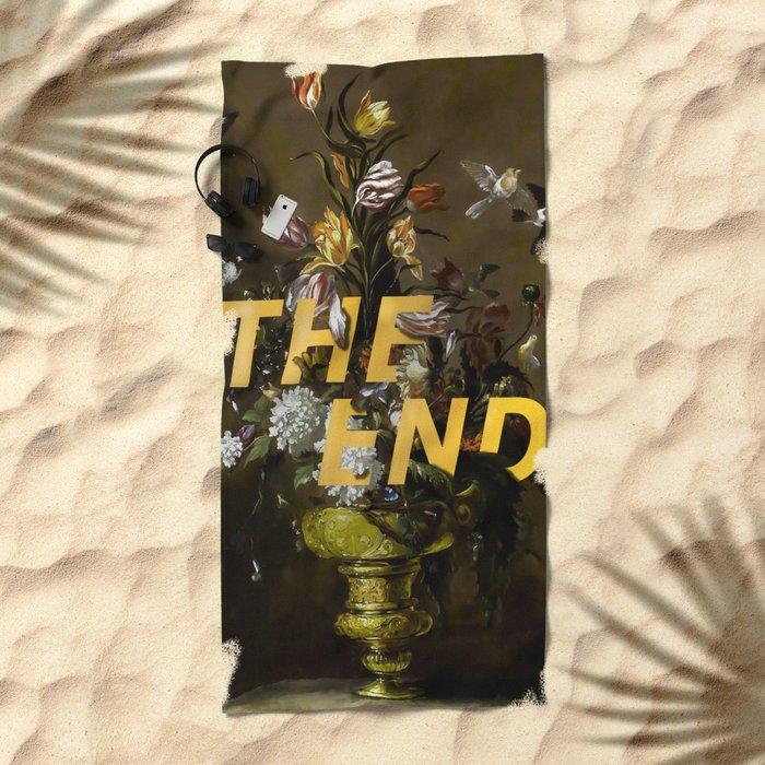The End Beach Towel