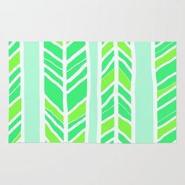 Stripes: Greenies Rug