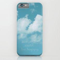 Blue Sky Meditation Slim Case iPhone 6s