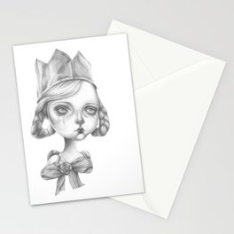 Beatrice in her party hat Stationery Cards