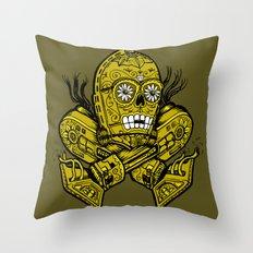 CatriPO Throw Pillow