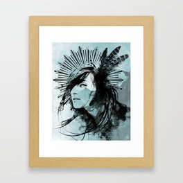 Farther Away Framed Art Print