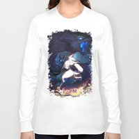 league of legends Long Sleeve T-shirts featuring League of Legends - Kindred by dNiseb