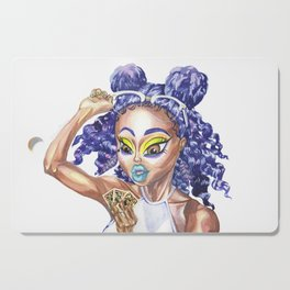Chibi Raish Phoenix Cutting Board
