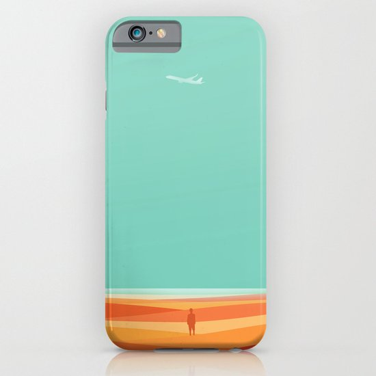 Where the sea meets the sky iPhone & iPod Case