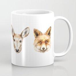 The Spirit of Forest Animals Coffee Mug