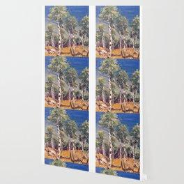 aspen trees Wallpaper