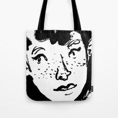 Ink Portrait Tote Bag