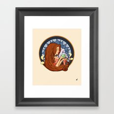 Aeris Nouveau Framed Art Print