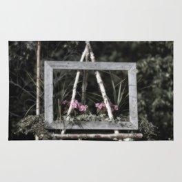 Flowering Easel Rug