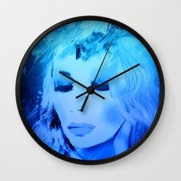 Joni Another Blue Wall Clock