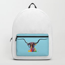 Hipster Longhorn Backpack