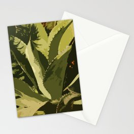 Agave Abstract Stationery Cards