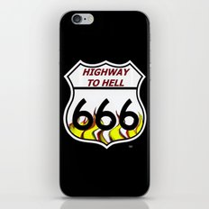 Highway To Hell iPhone & iPod Skin