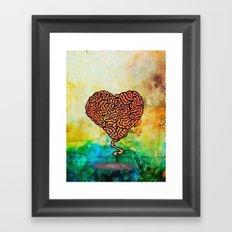 Brainheart Framed Art Print