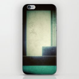 Faded Blue iPhone Skin