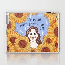 Focus on what brings you joy Laptop & iPad Skin