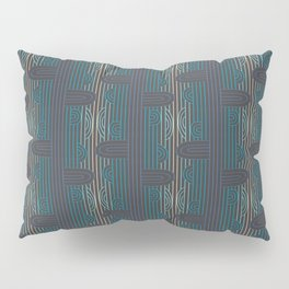 art deco stripe Pillow Sham