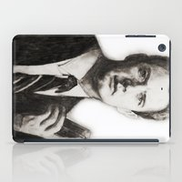 dale cooper iPad Cases featuring TWIN PEAKS - AGENT COOPER by William Wong