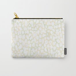 Pale pink stains. Carry-All Pouch