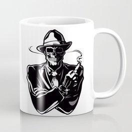 gangster skull. Coffee Mug