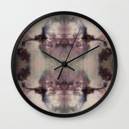 Primrose Hill Ice Dye Wall Clock
