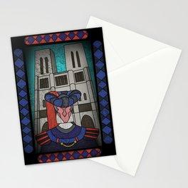 Norte dame calls Stationery Cards