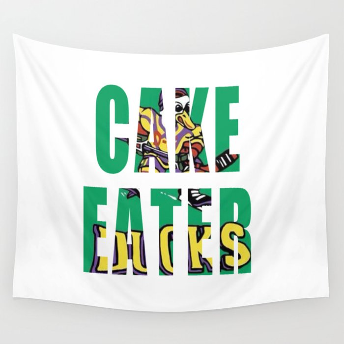 Cake Eater Wall Tapestry