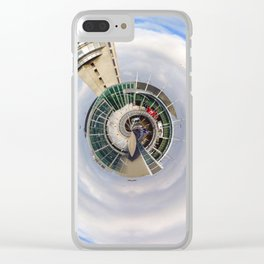 Little Planet of Montreal Airport Clear iPhone Case