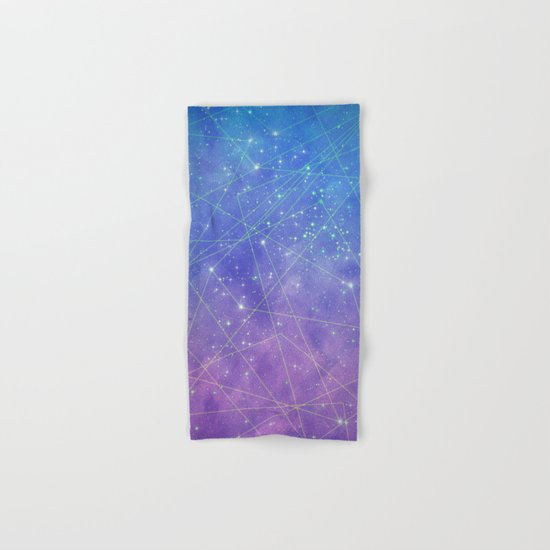 Map of the Stars Hand & Bath Towel
