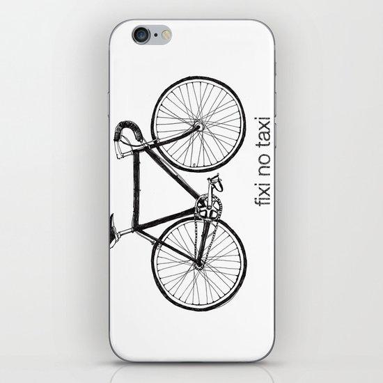 fixi no taxi iPhone & iPod Skin