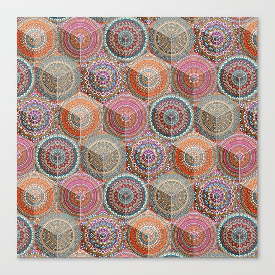Hexatribal - Full Canvas Print