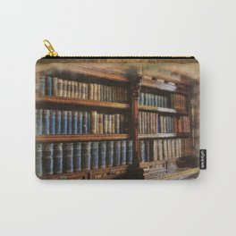 Knowledge - Antique Books on History & Law Carry-All Pouch