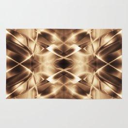 Geometric abstract disign Rug