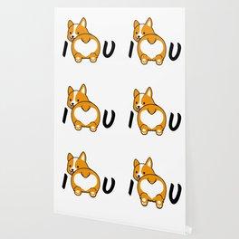 I love corgis and you Wallpaper