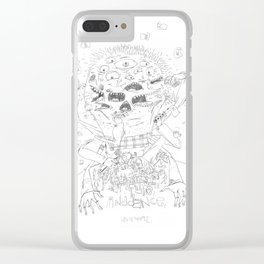 Ogre Clear iPhone Case