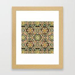 Flower Crown Bohemian Framed Art Print
