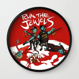 Run The Jewels Wall Clock
