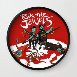 Run The Jewels Wall Clock