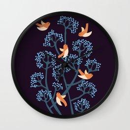 Birds Are singing Wall Clock