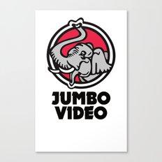 Jumbo Video Canvas Print