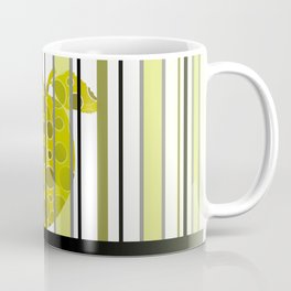 Apple And Stripes Coffee Mug