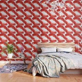 Lips Illustration, Red Lipstiick for Girls, Home Decor, Wall ART ,Poster, Mugs,iPhone Case Wallpaper